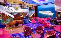 Norwegian Gem atrium